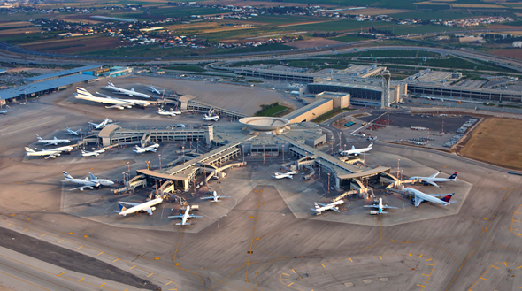 Ben Gurion Airport. Photo: the Israel Airports Authority (IAA)