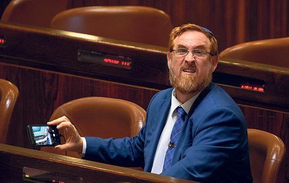 """ח""""כ יהודה גליק, צילום: אוהד צויגנברג"""