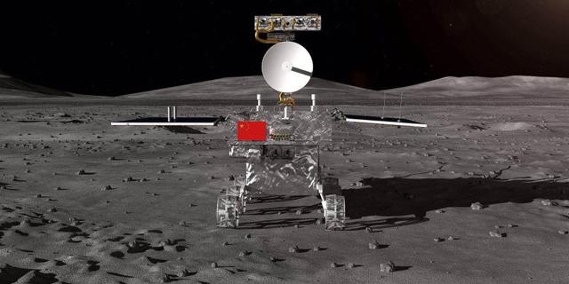 לראשונה בהיסטוריה: סין הנחיתה רובוט בצד האפל של הירח