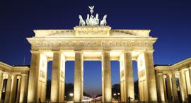 ועידת ברלין גרמניה שער ברנדנבורג , צילום: שאטרסטוק