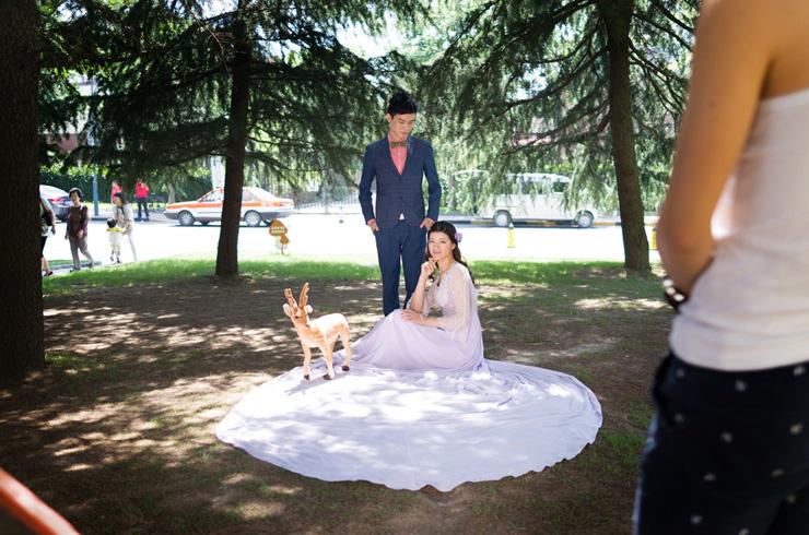 צילומי חתונה בסין. הסרט China Love