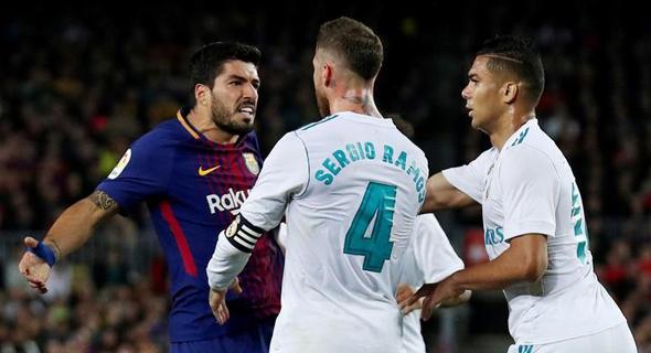 ברצלונה קיבלה את הסכום הגבוה ביותר - 154 מיליון יורו, שהם 6 מיליון יותר מאשר ריאל מדריד. אתלטיקו מדריד במקום השלישי עם הכנסה של 110.6 מיליון יורו. כל שאר הקבוצות קיבלו פחות מ-80 מיליון יורו. , צילום: רויטרס