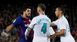 ברצלונה נגד ריאל מדריד (ארכיון), צילום: רויטרס