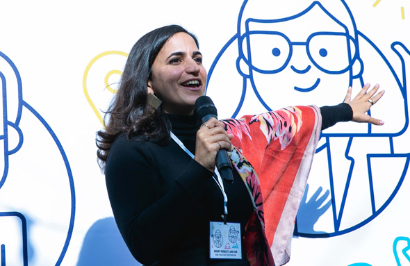 """אורלי דהן מנכ""""לית קהילת אקומושן, צילום:ע נבר לוי"""