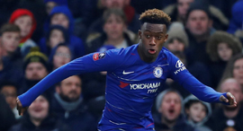 Chelsea player Callum Hudson-Odoi. Photo: Reuters