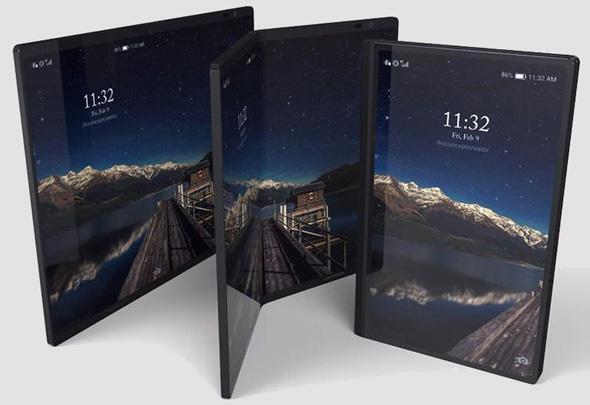עיצוב קונספט של סמארטפון היברידי, צילום: (ConceptCreator (T3