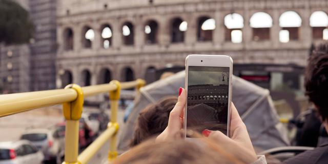 רומא מרחיקה אוטובוסים של תיירים ממרכז העיר ההיסטורי