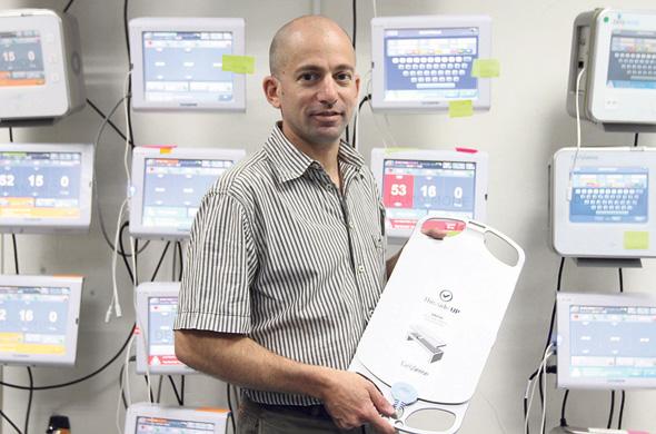 EarlySense CEO Avner Halperi. Photo: Ariel Bashor
