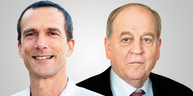 פרופ' אביה ספיבק (מימין) ויוסי היימן, צילומים: אופיר בן נתן, יואב גלאי