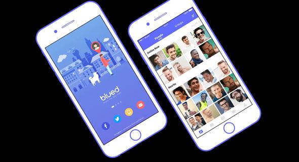 אפליקציית Blued