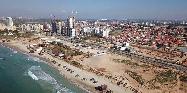 """פרויקט החוף הלבן: """"רצועת החוף תהיה הפנים של חדרה"""""""