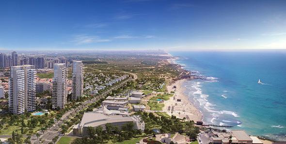 פרויקט החוף הלבן. סטנדרט בנייה גבוה ונגישות מלאה לחוף