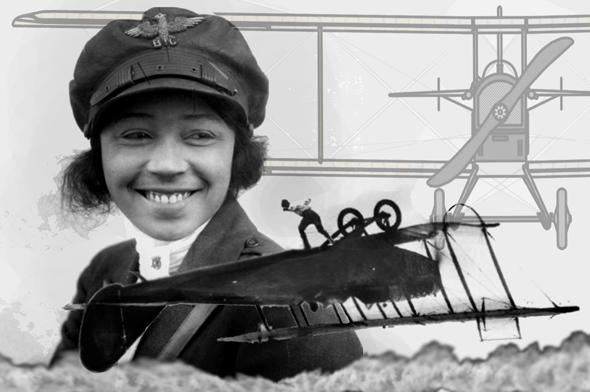 בסי קולמן, גיבורת טיס מסוג אחר, צילום: picdeer/aviationcv/wikimedia