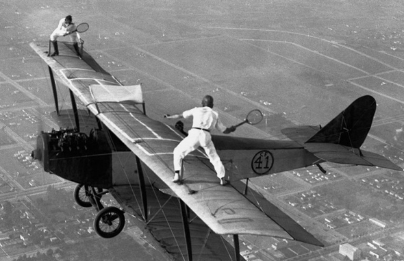 פעלולני אוויר בשנות העשרים, צילום: newyorkerstateofmind