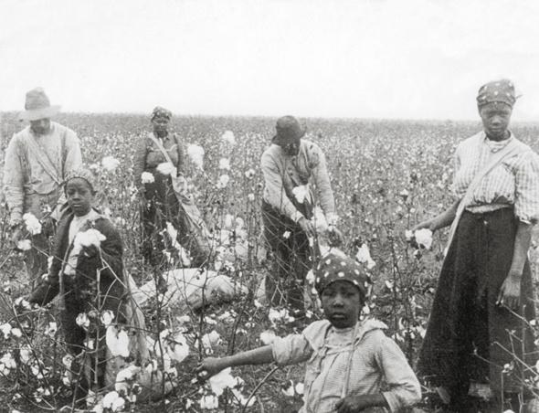 """פועלים בדרום ארה""""ב בתחילת המאה, צילום: thestoryoftexas"""