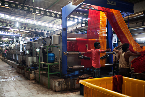 מפעל טקסטיל בגוג
