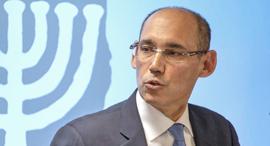 נגיד בנק ישראל פרופ' אמיר ירון תיאר אתמול בפני הממשלה תמונה מלאה ומטרידה, צילום: עומר מסינגר