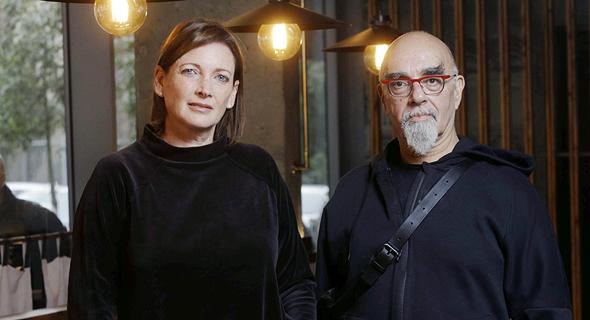 ישראל אהרוני וגילי זליבנסקי בעלת רשת הירו ראמן