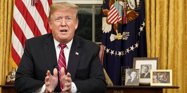 """""""בשל השבתת הממשל"""" - טראמפ ביטל את המשלחת לדאבוס"""