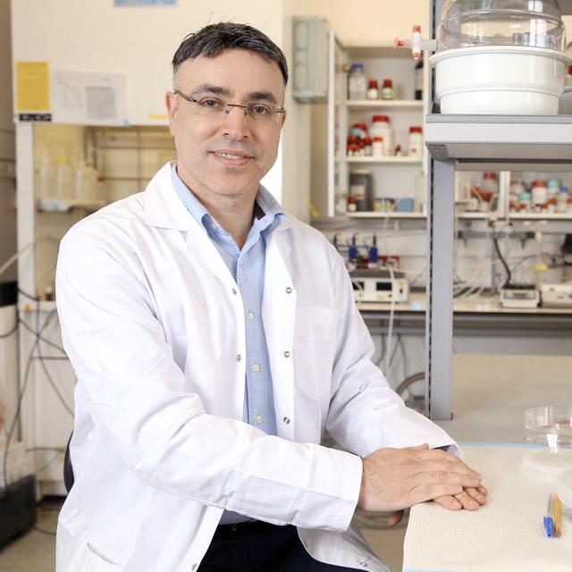 מוסף שבועי 10.1.19 חוסאם חאיק פקולטה להנדסה כימית טכניון חיפה, צילום: אלעד גרשגורן