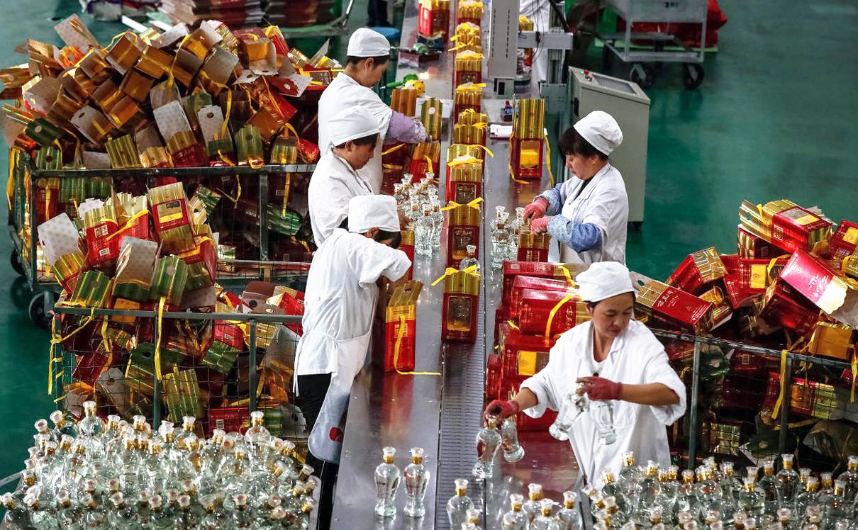 מפעל באיגיו במחוז שאאנשי בסין, בספטמבר , צילום: אי פי איי