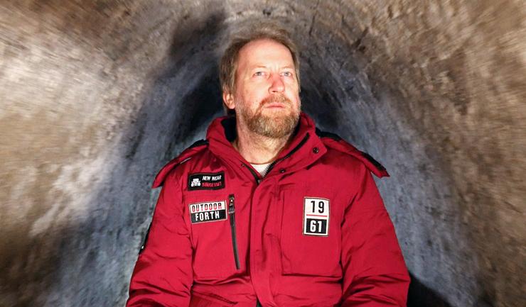 """קונזה במערה. """"אין מספיק משאבים בעולם לשימור כל המידע הקיים, ואז תבוא השִכחה הגדולה"""""""