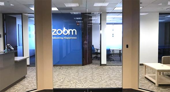 """משרדי Zoom בארה""""ב, צילום: glassdoor"""