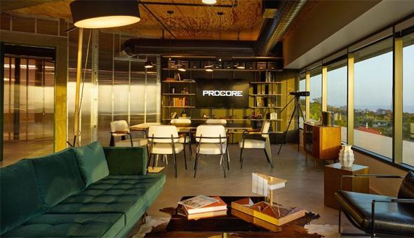 משרדי חברת פרוקור Procore, צילום: glassdoor