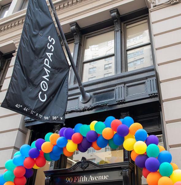 משרדי קומפאס בניו יורק, צילום: officelovin