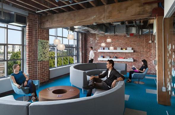 משרדי Adobe בסן פרנסיסקו, צילום: glassdoor