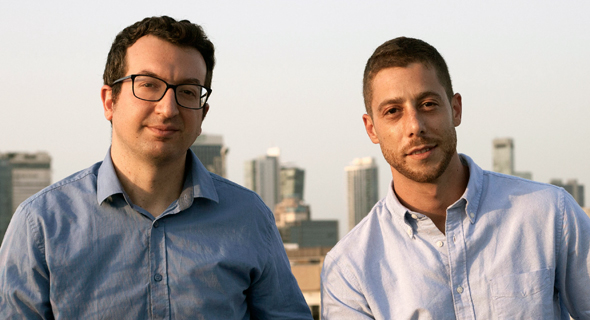 Litigate co-founders Guy Uziel (left) and Nimrod Aharon. Photo: Merav Dror