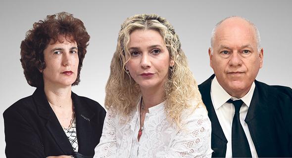 השופט עוזי פוגלמן, השופטת רונית פוזננסקי-כץ והשופטת דפנה ברק-ארז