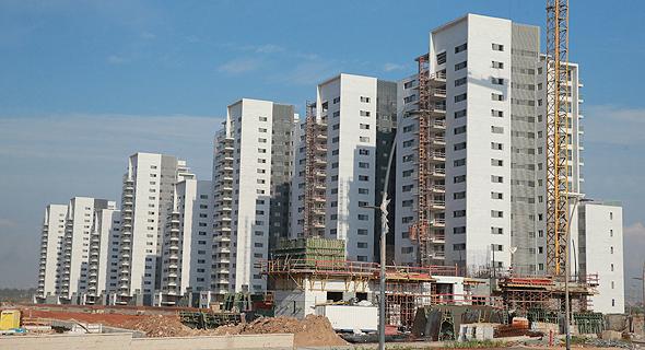 בנייה בראש העין. העיר עם המכרזים הרבים ביותר, צילום: אוראל כהן