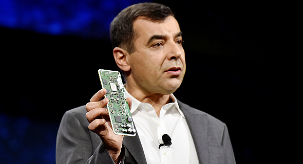 Mobileye co-founder and CEO Amnon Shashua. Photo: AFP