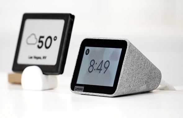 שעון מעורר חכם מבוסס אסיסטנט, מתוצרת לנובו, צילום: בלומברג
