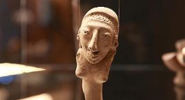 פנאי גודה פלייקטה תערוכה פסל, צילום: אוראל כהן