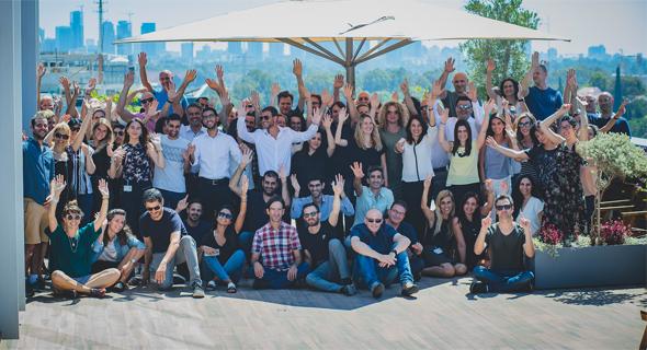 צוות Elad Group, צילום: ויקטור לוי