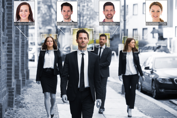 Face recognition. Photo: Shutterstock