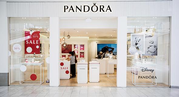 חנות של פנדורה בקופנהגן, צילום: בלומברג