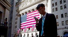 בורסה וול סטריט ניו יורק מסחר, צילום: בלומברג