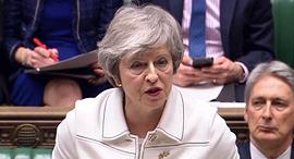 ראש ממשלת בריטניה, תרזה מיי, צילום: AFP