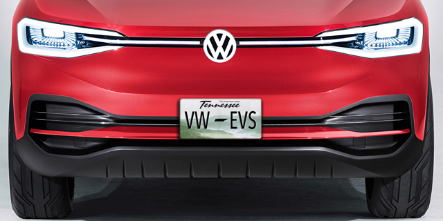 """פולקסווגן הודיעה: הרכב החשמלי ייוצר בארה""""ב"""