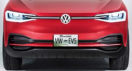 רכב חשמלי של פולקסווגן. LG מספקת לחברה סוללות