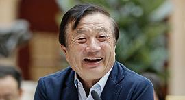 מייסד וואווי רן ז'נגפיי Ren Zhengfei, צילום: בלומברג