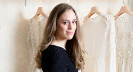 פנאי חנה מריליוס מעצבת שמלות כלה, צילום: אביגיל עוזי
