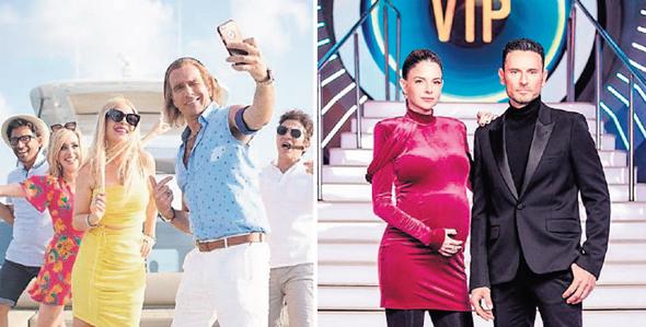 """מימין: """"האח הגדול"""" של הערוץ הממוזג ו""""ארץ נהדרת"""" של קשת. תחרות טאלנטים"""