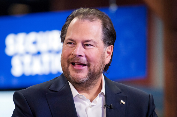 Salesforce.com chairman and co-CEO Marc Benioff. Photo: Bloomberg