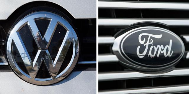 מכוניות חשמליות ובינה מלאכותית: פורד ופולקסווגן חשפו את השותפות האסטרטגית ביניהן