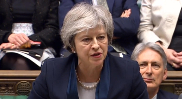 תבוסה קשה לתרזה מיי: הסכם הברקזיט נפל בפרלמנט