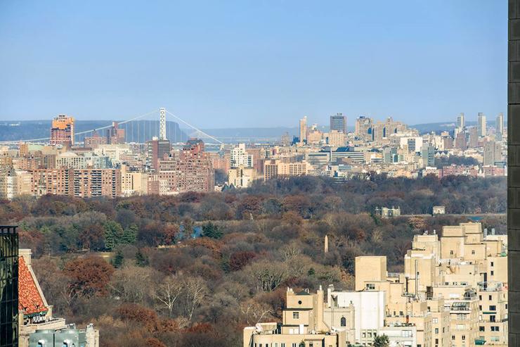 הנוף מהדירה - סנטרל פארק